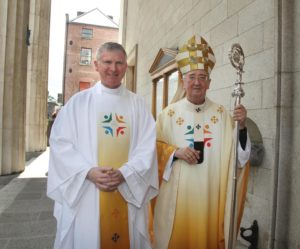 The ordination of Seamus McEntee to the priesthood. June 2014.