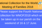 Newsletter Notice 1 for Fourth National Collection