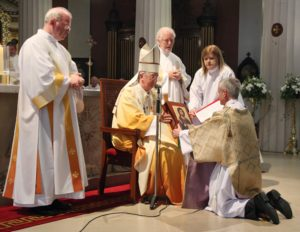 Ordination of three permanent Deacons in June 2013